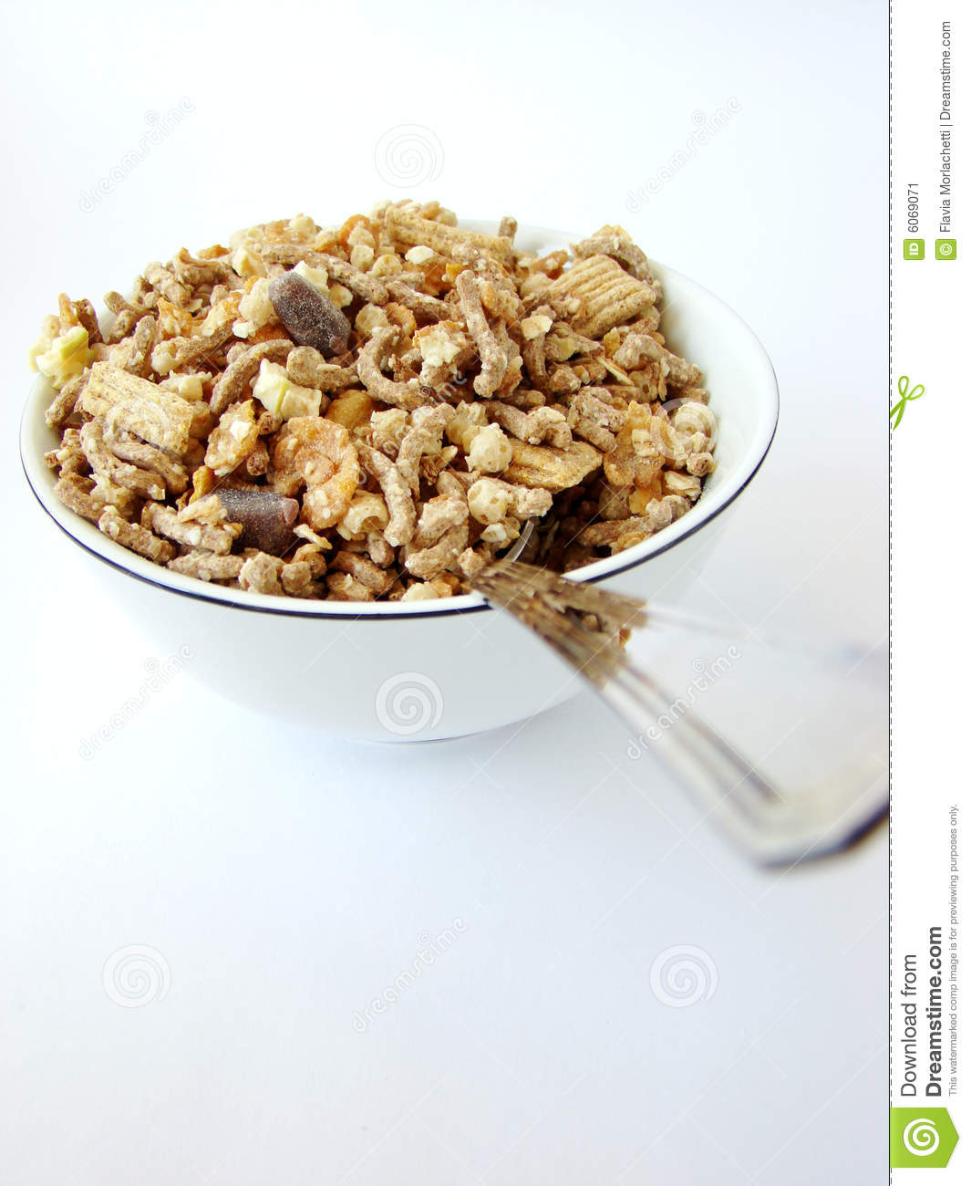 Cup Of Cereals Stock Image. Image Of Roasted, Crunchy