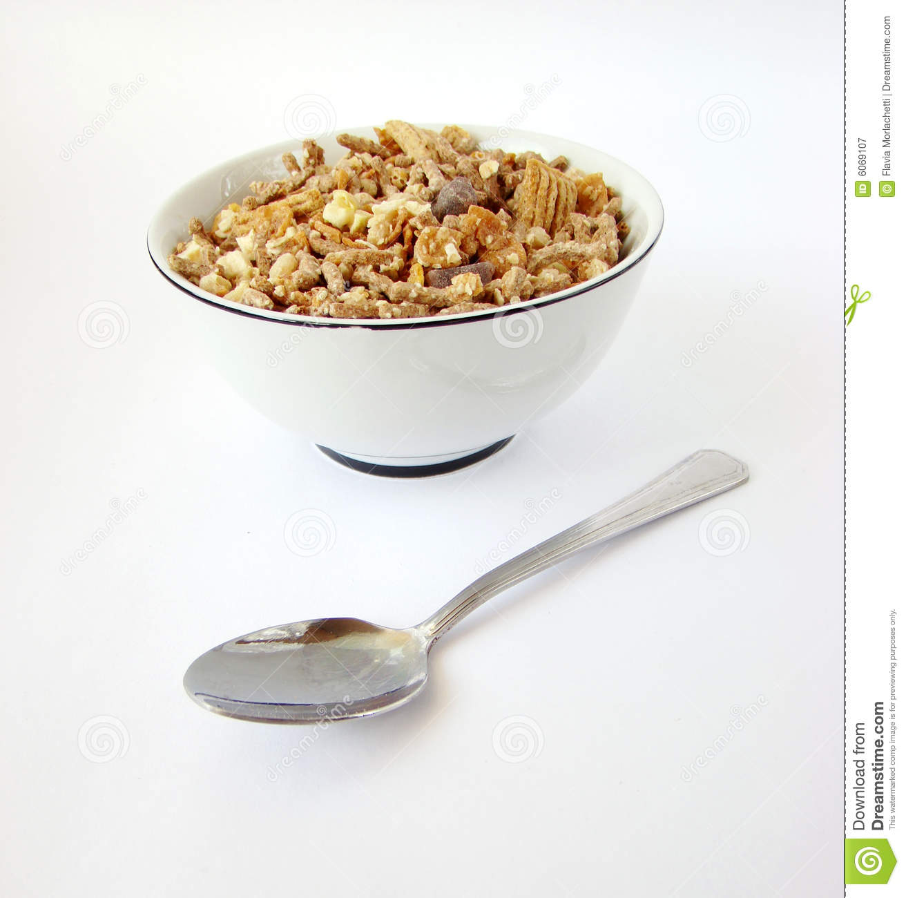 Cup Of Cereals Stock Image. Image Of Diet, Cuisine