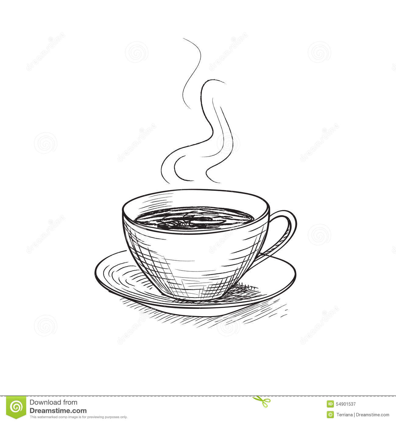 Coffee cup sketch - Coffee Cup
