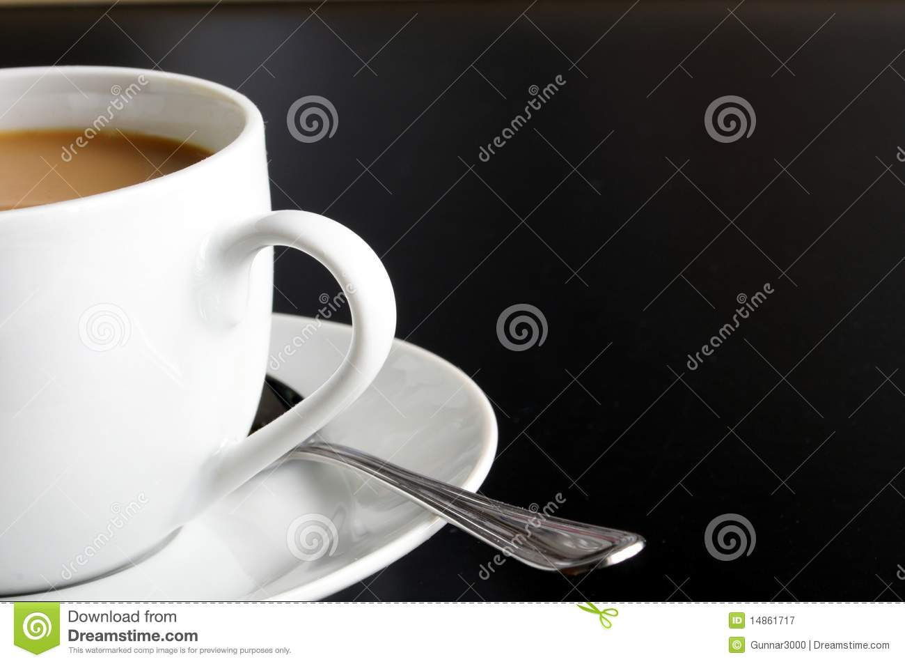 Cup of coffee and copyspace