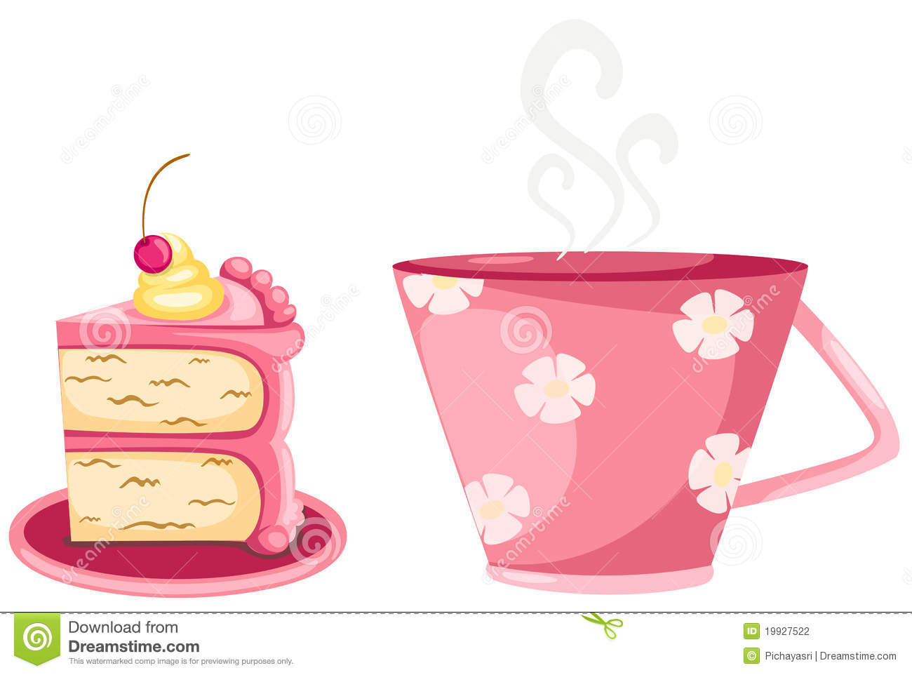clipart coffee and cake - photo #50
