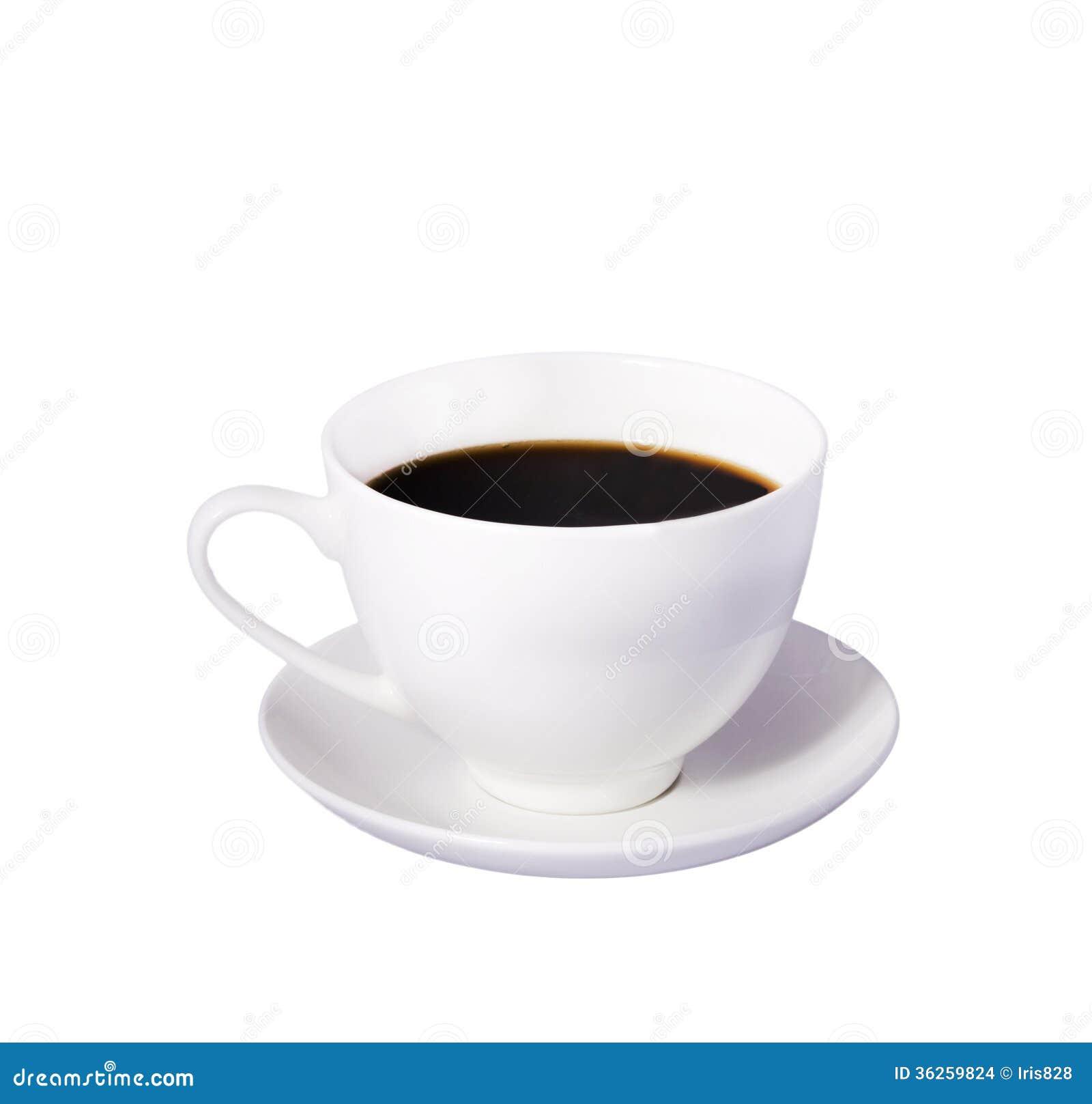 hot coffee white background - photo #16