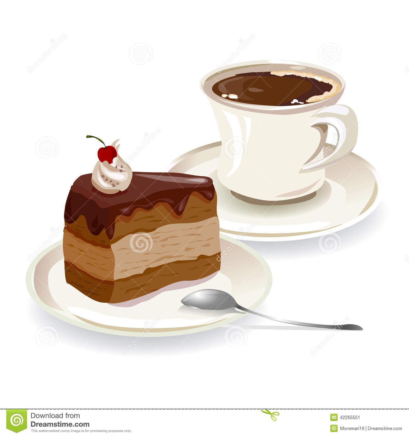 cup of coffee and a piece of cake stock illustration free vintage cooking clipart free cooking clipart for kids