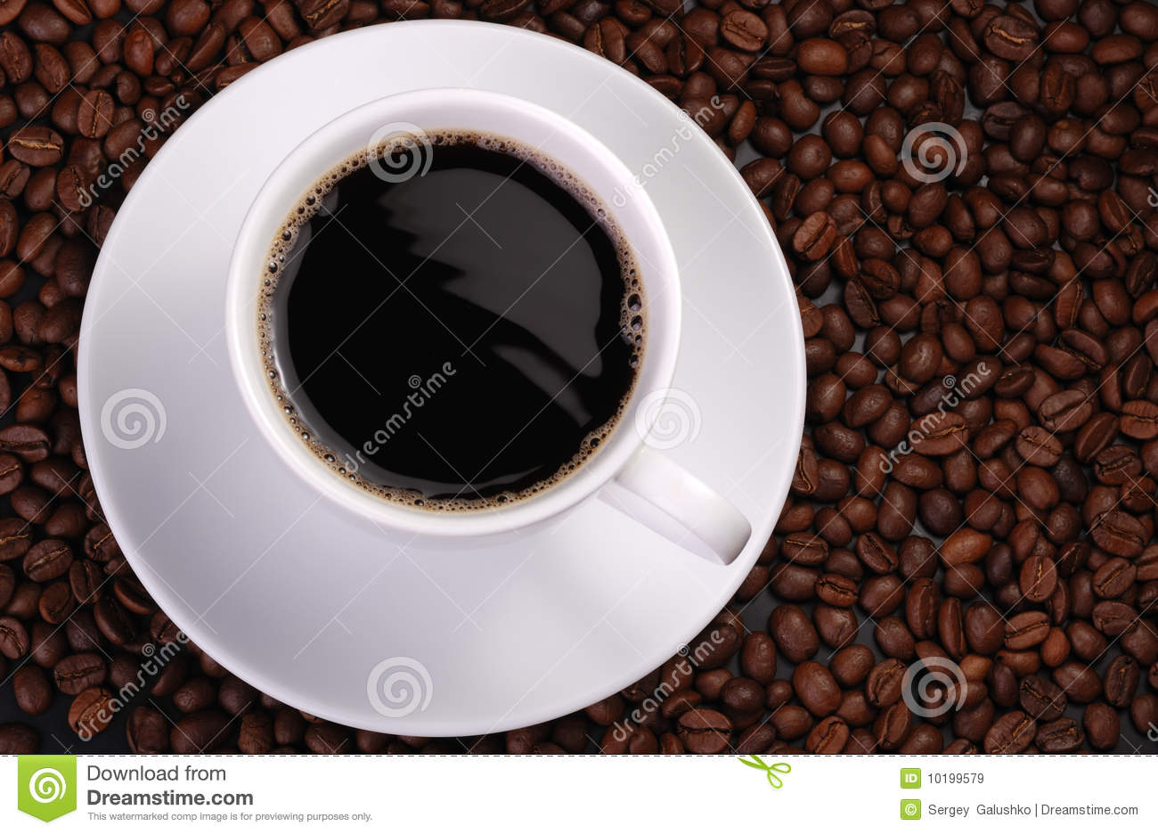Cup Of Coffee With Wave Royalty Free Stock Images Image