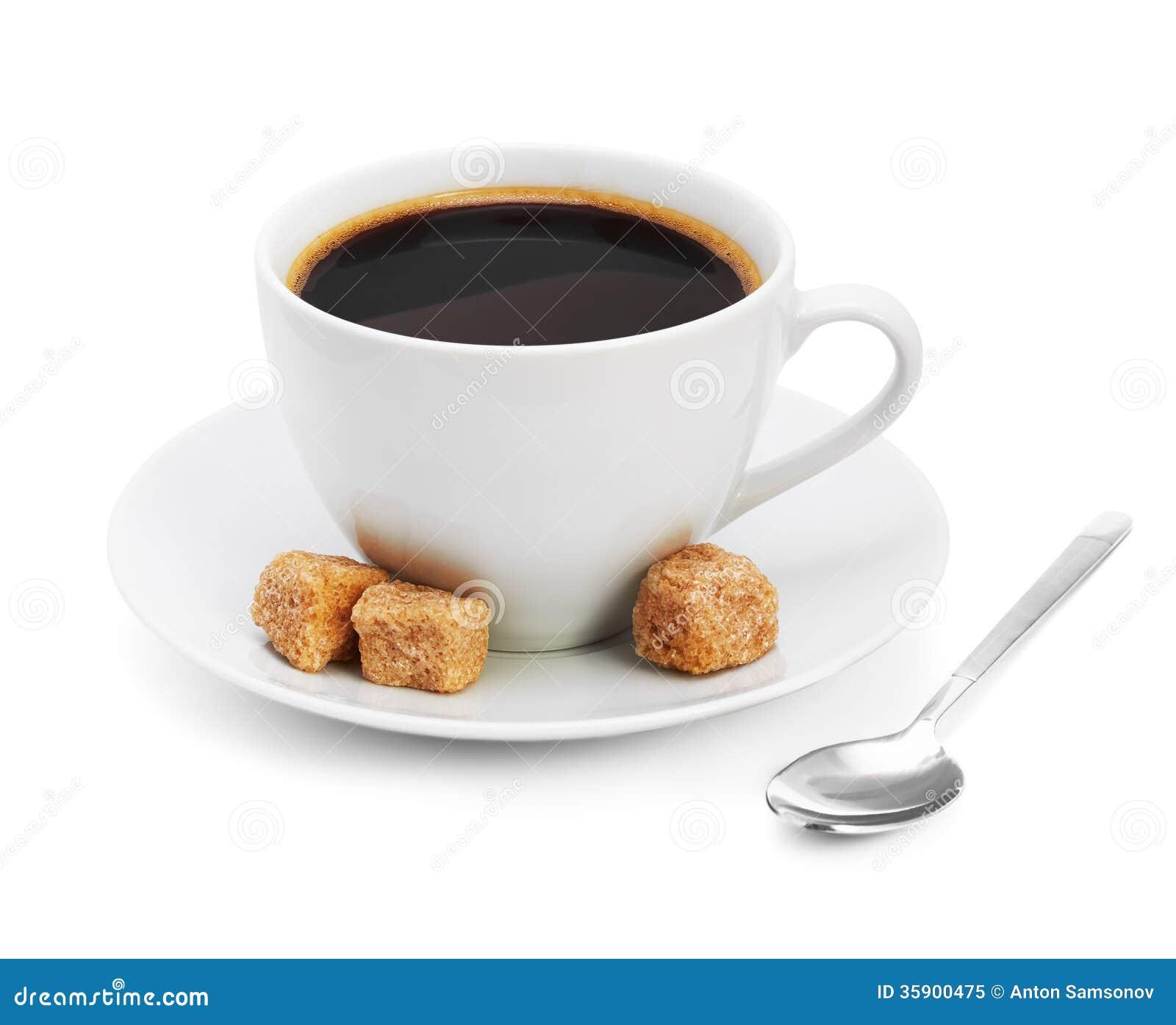 hot coffee white background - photo #15