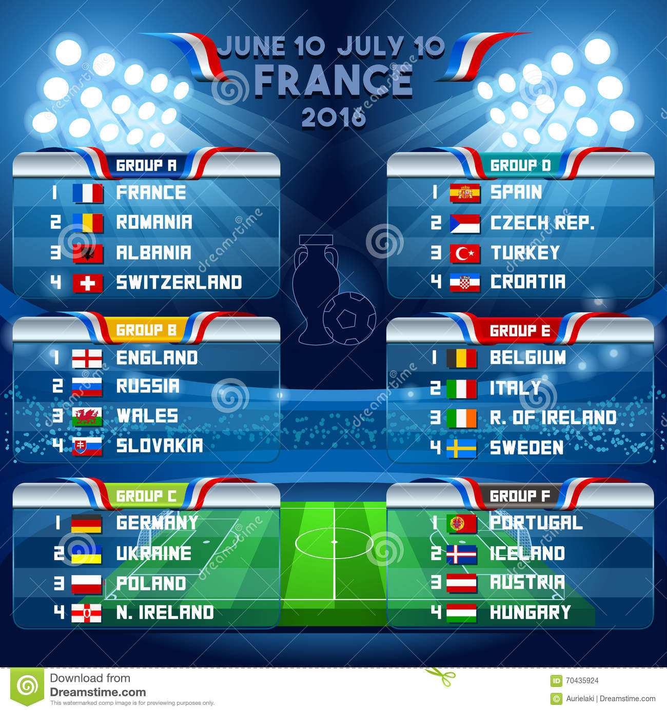 Euro Cup 2016 Live Socres, Results, Soccer Europe - UEFA Euro 2016 ...