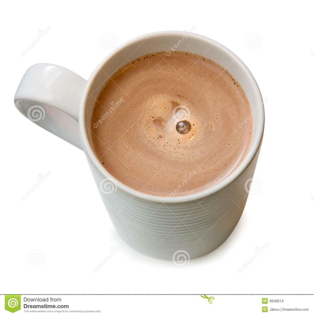 A Cup Of Hot Chocolate Stock Images - Image: 4640014