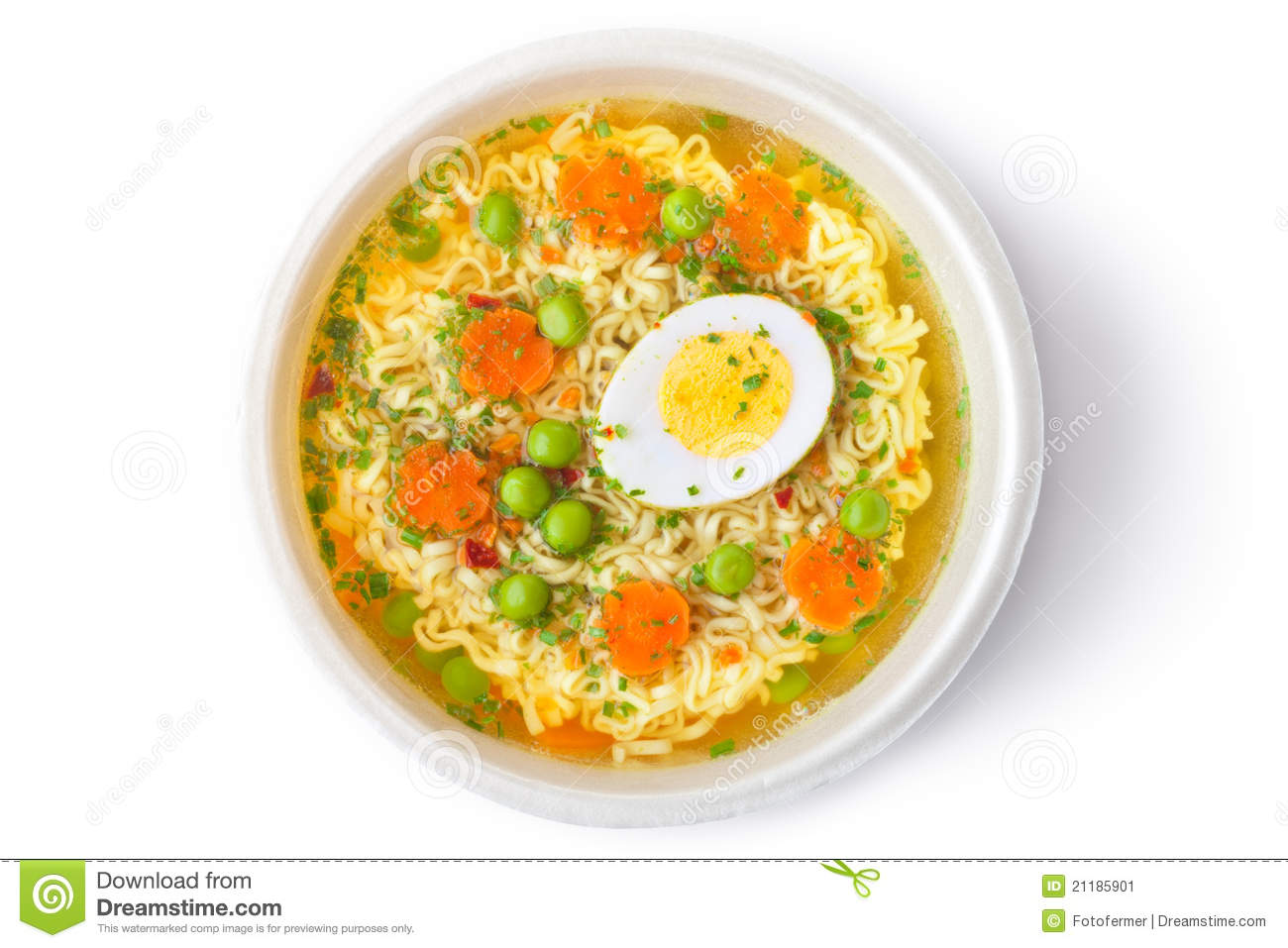 Raw Gazpacho Soup Cup Of Instant Noodles...