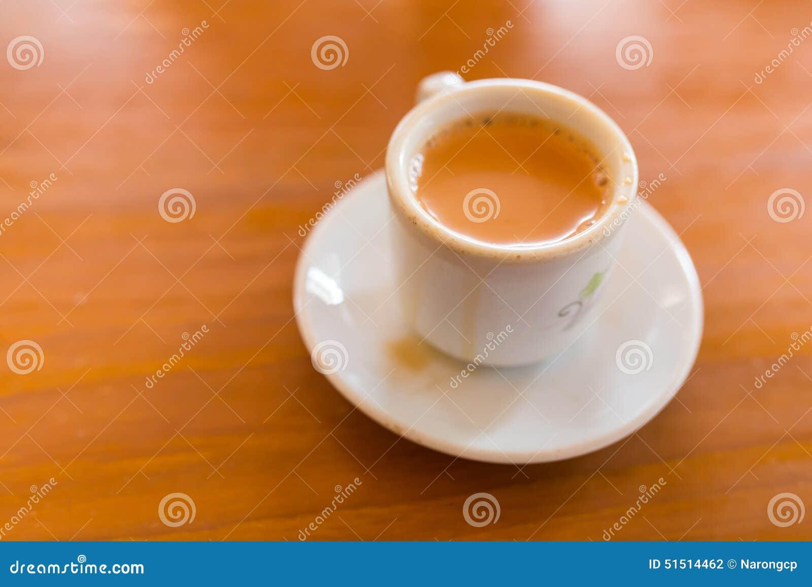 Cup Of Milk Tea Stock Photo - Image: 51514462