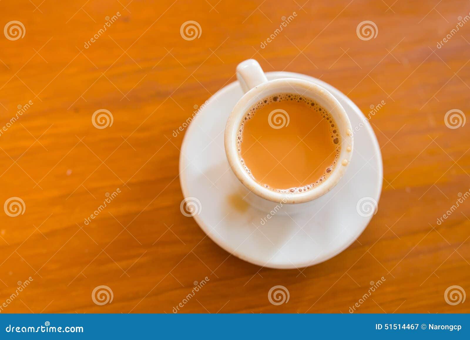Cup Of Milk Tea Stock Photo - Image: 51514467