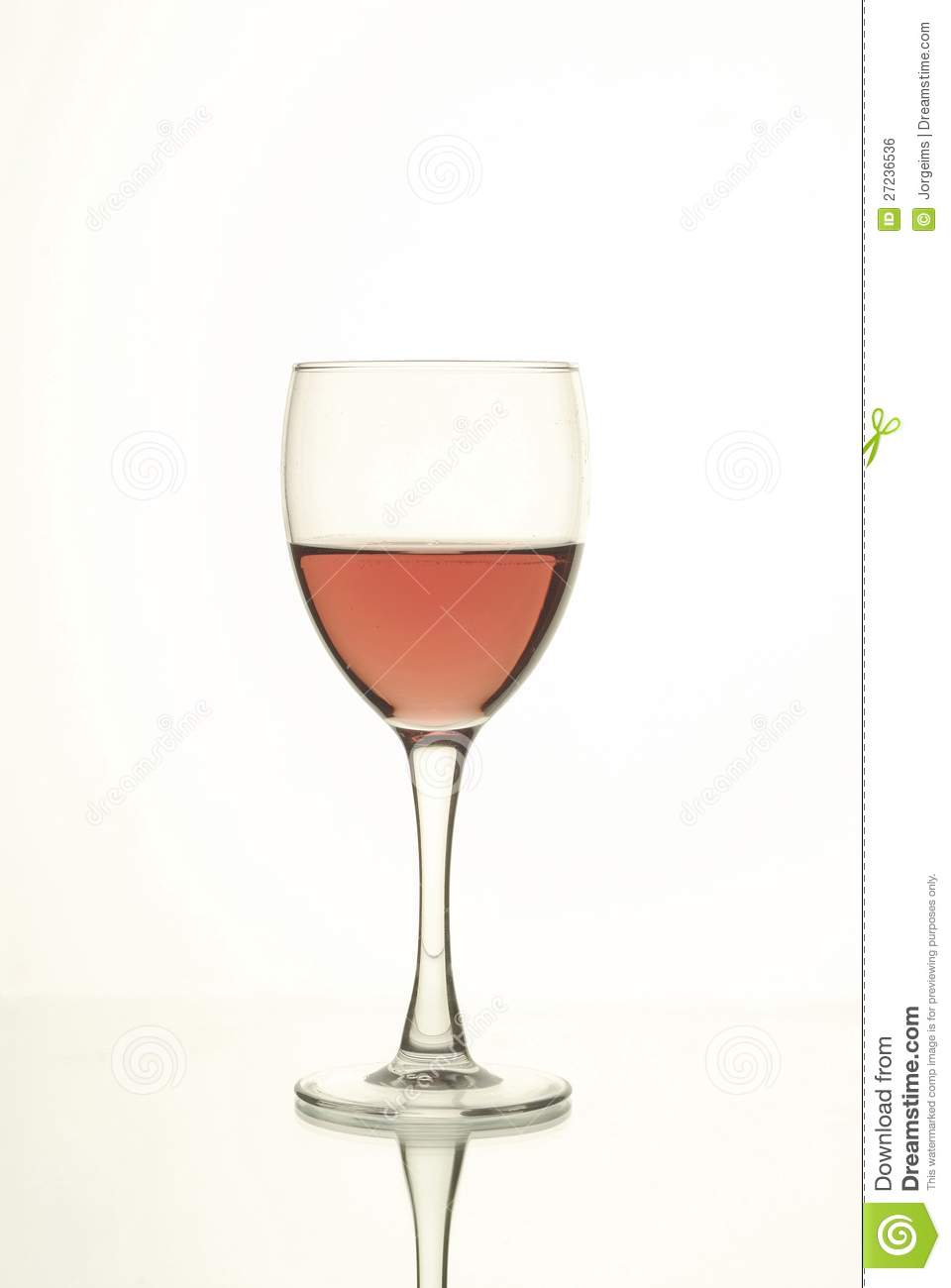 cup pink wine 27236536