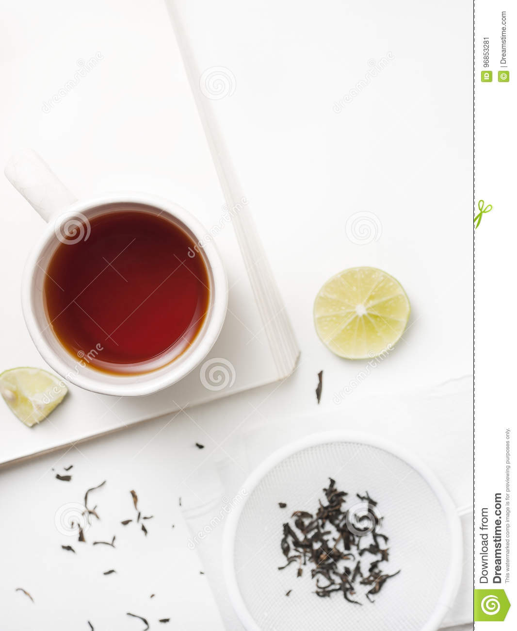 A cup of tea relax time