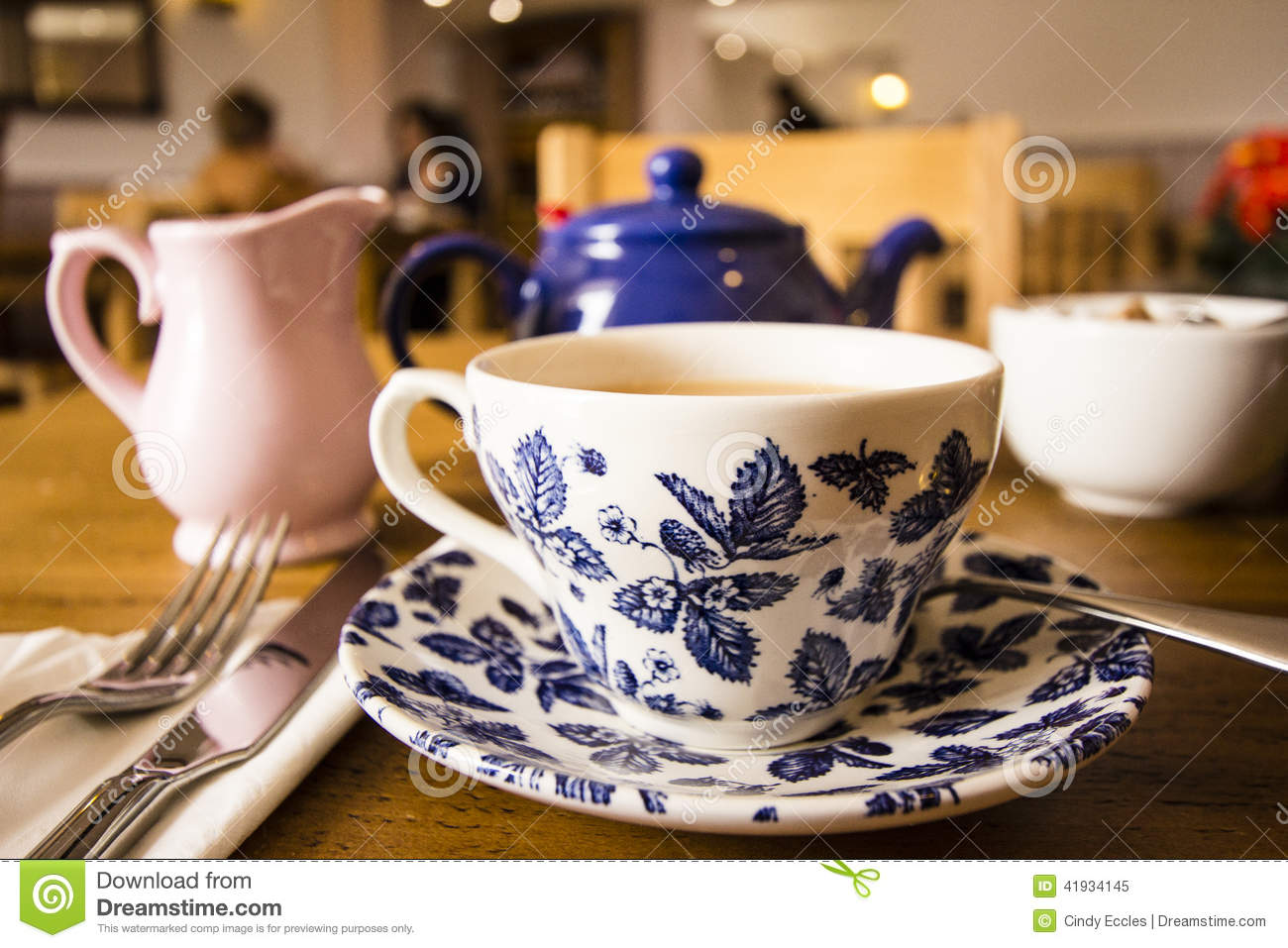Cup of tea stock photo image 41934145 for Cool tea cup designs