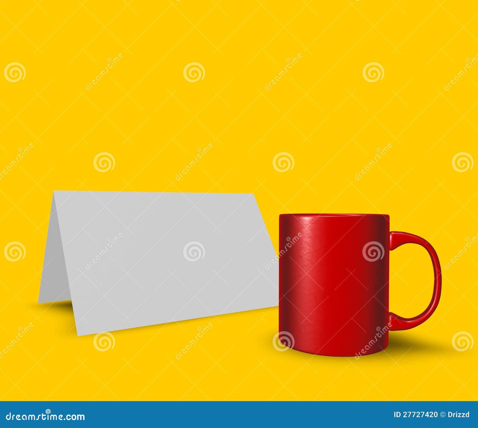 Cup und Karte
