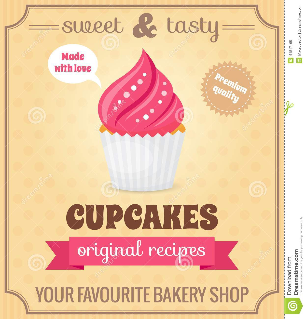 Cake Sale Poster Ideas