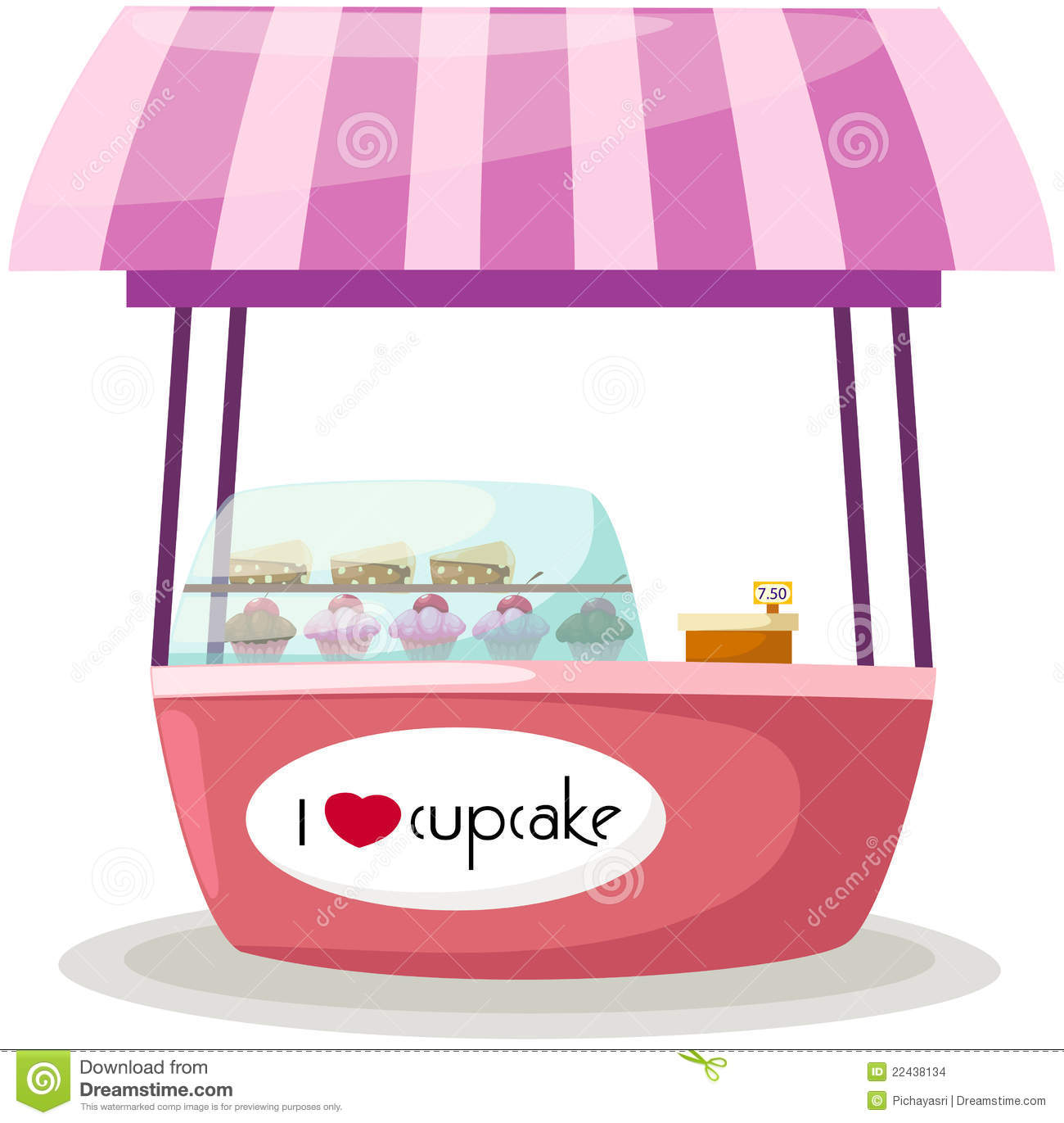 Cake And Ice Cream Clipart