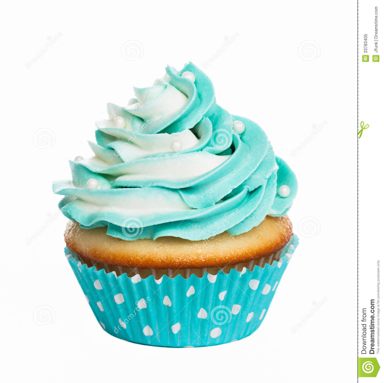 Blue White Birthday Cakes