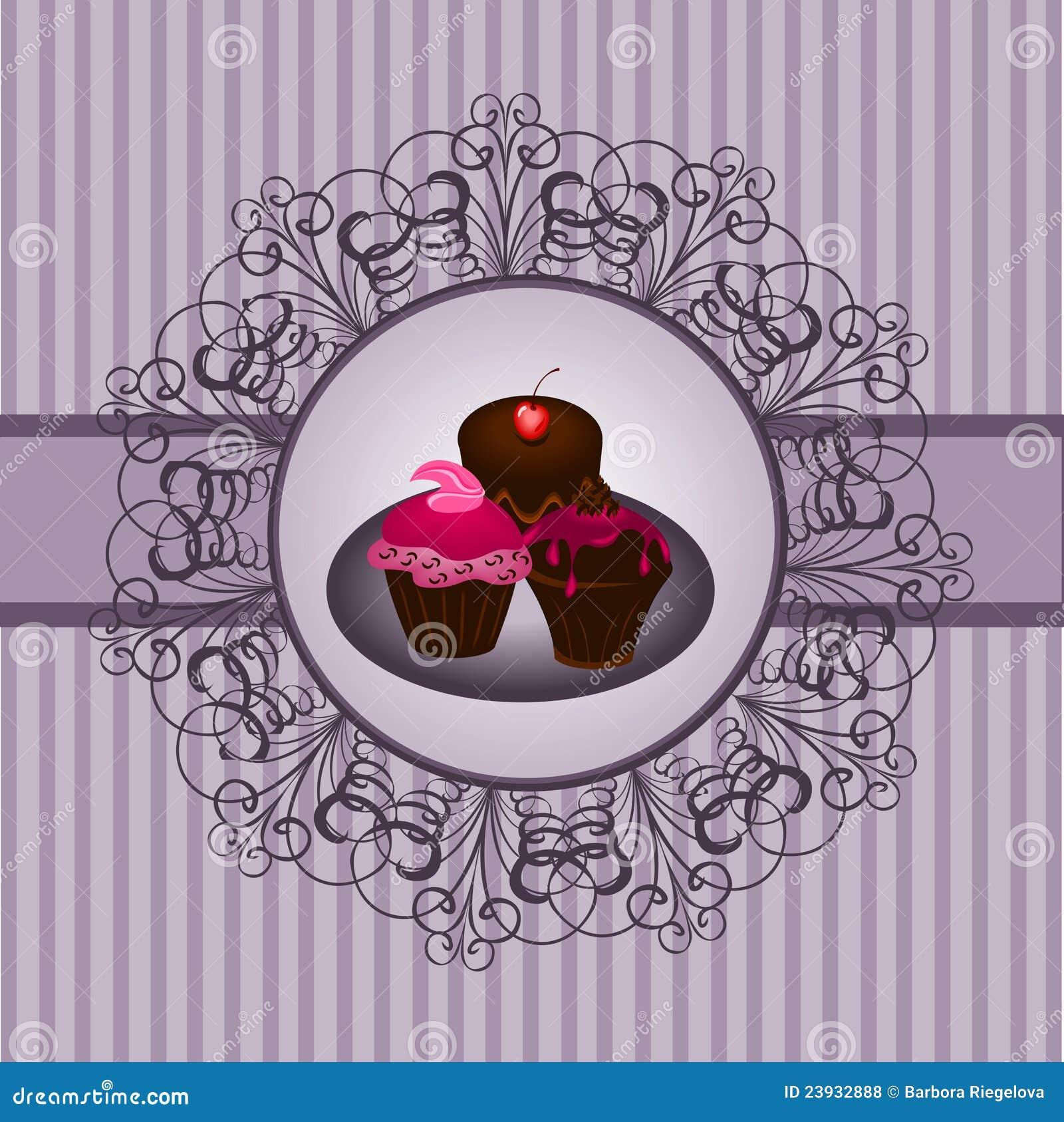 Cupcake vintage 2