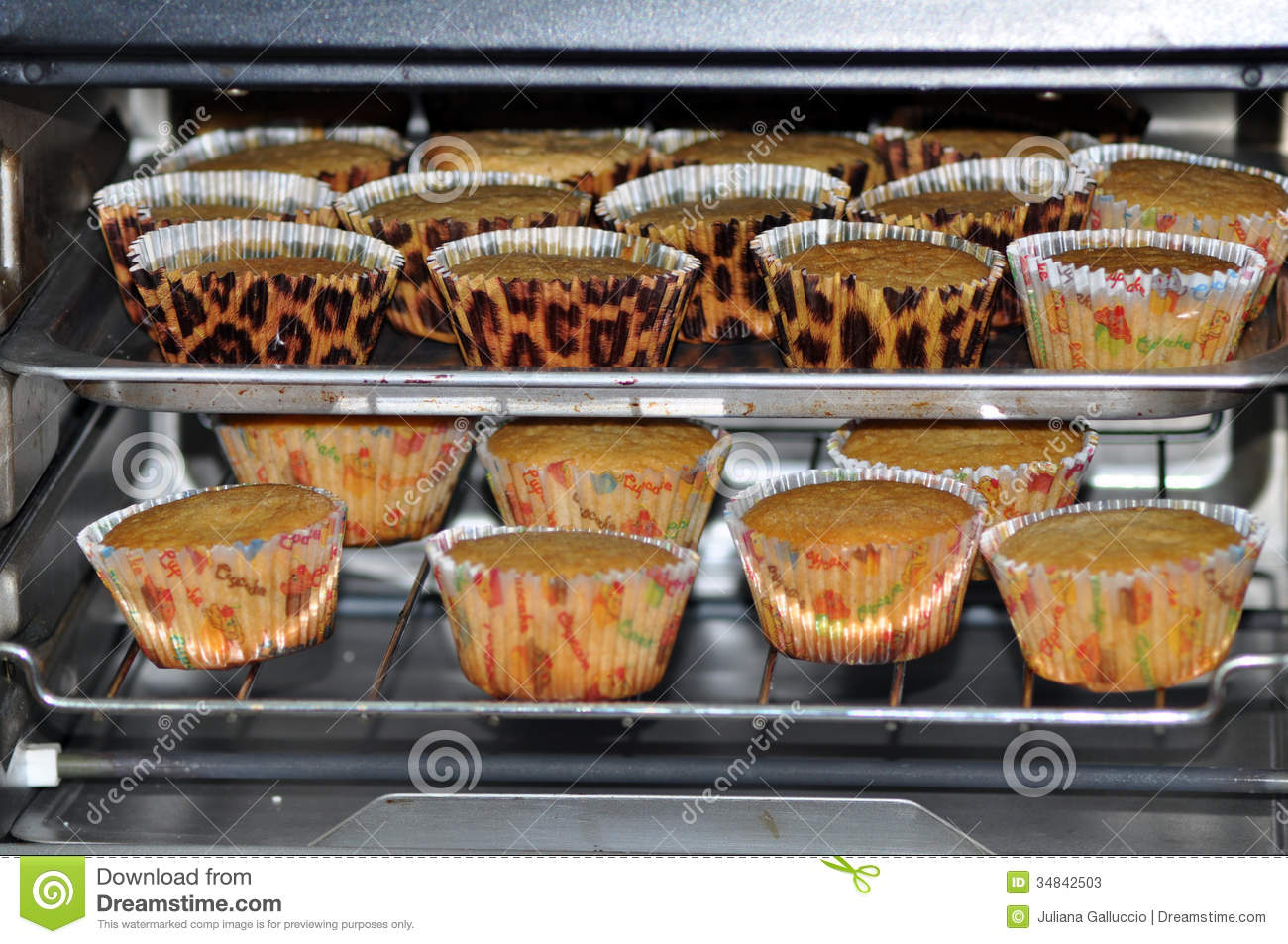 how to make cupcakes in oven