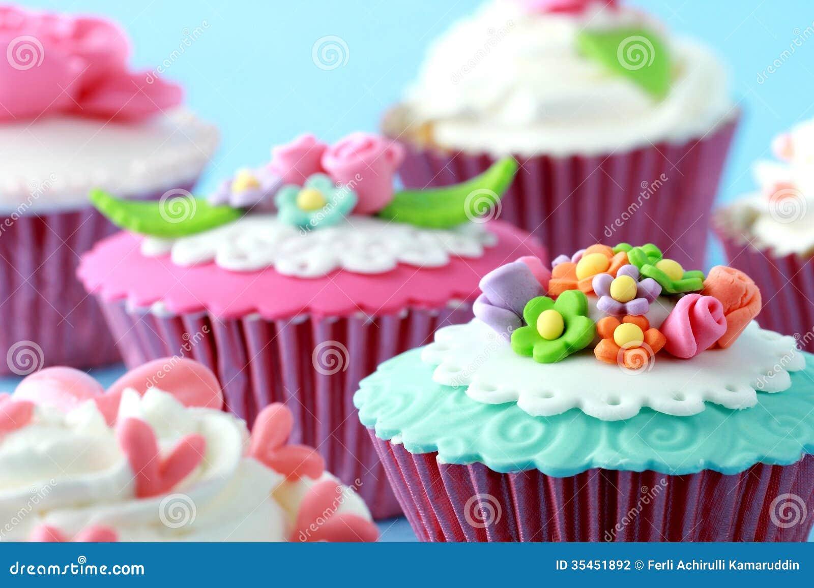 Beautiful Cupcake Images : Cupcakes Stock Photography - Image: 35451892