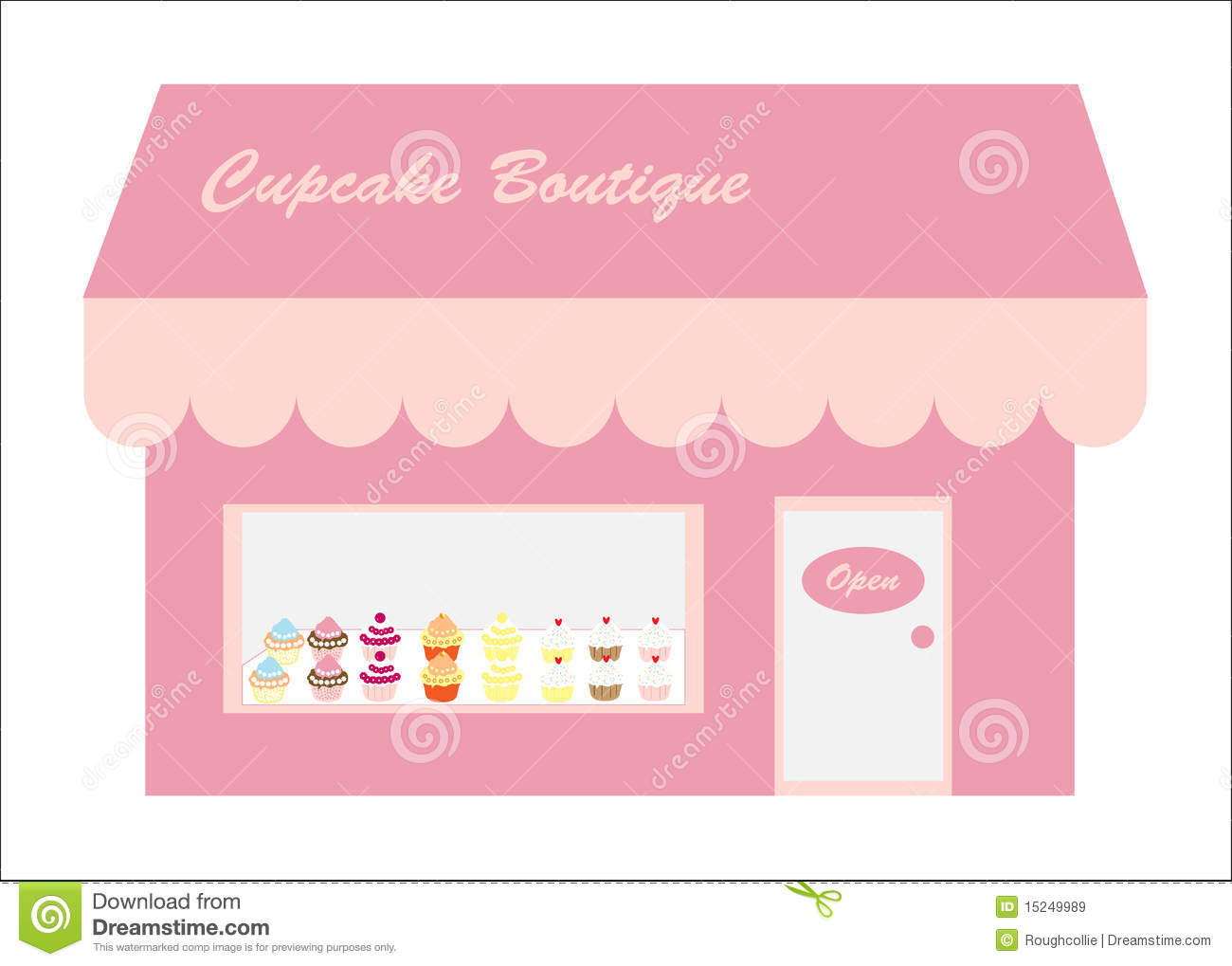 Cupcakes store shop logo stock illustration image of elements cupcakes store shop logo magicingreecefo Images
