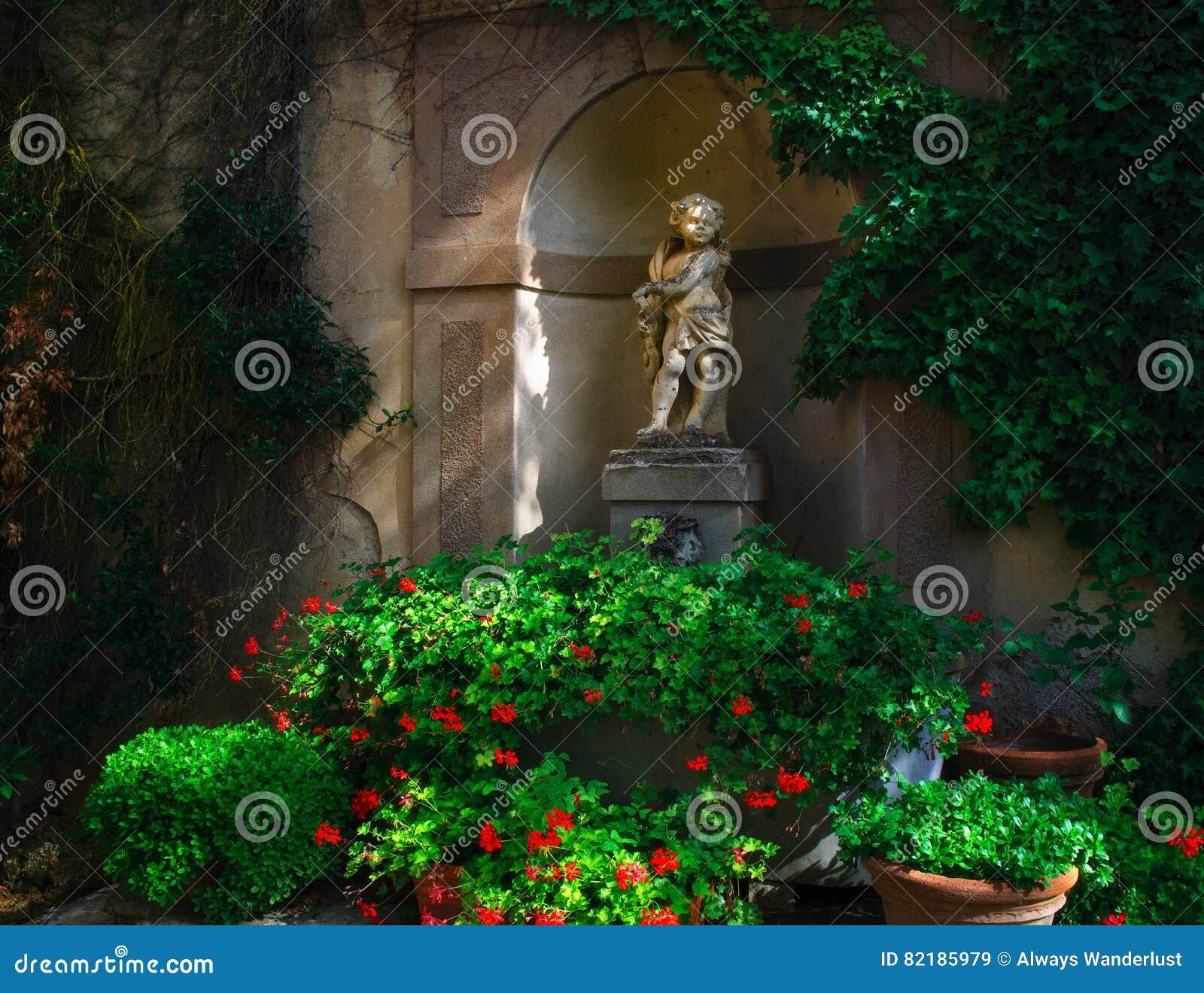Cupid Statue Tuscany