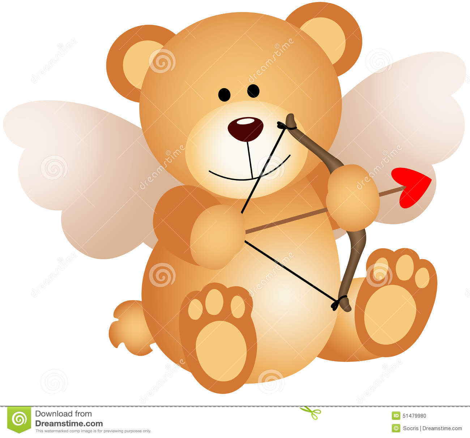 Cupido Teddy Bear