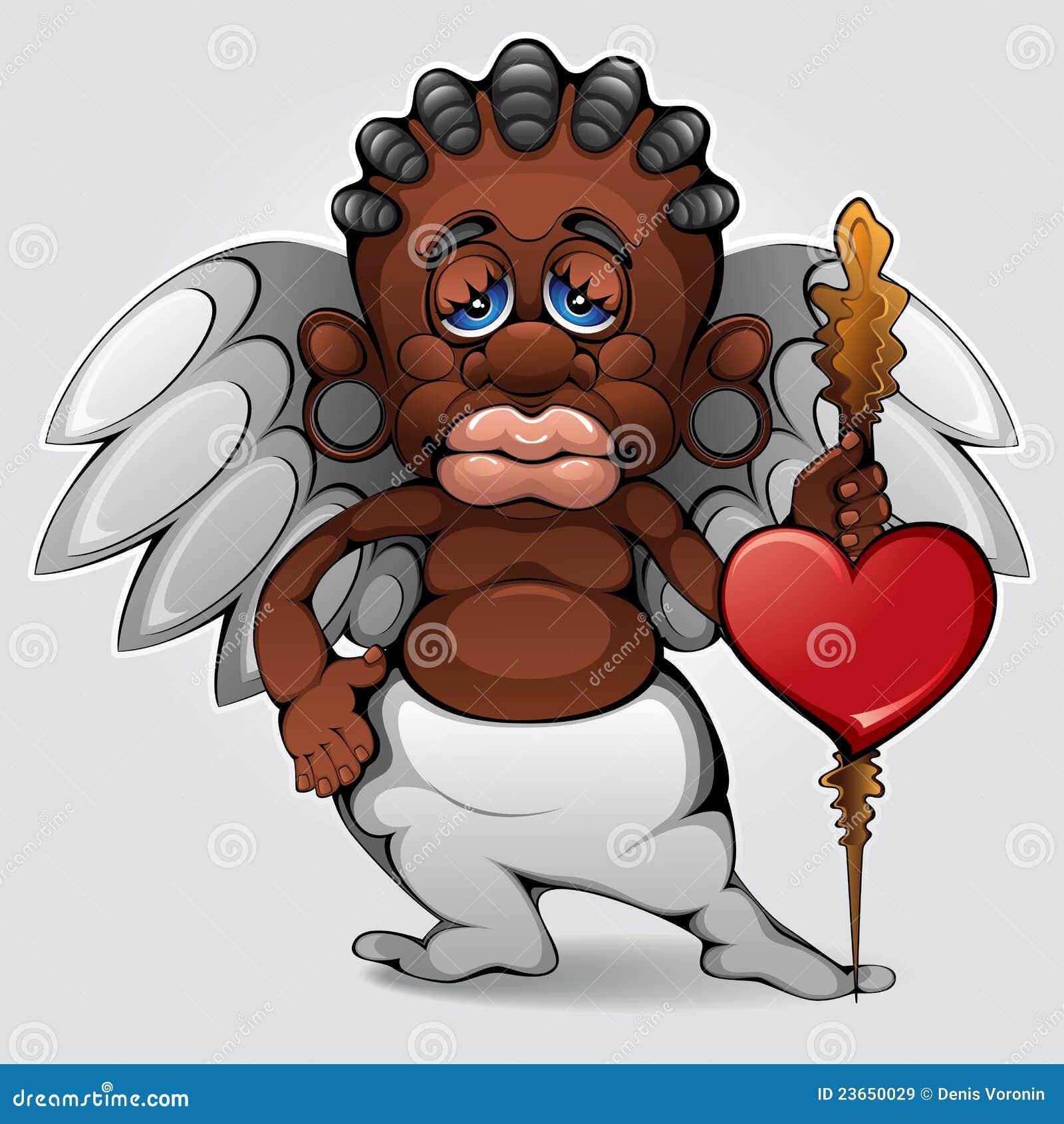 Cupidon africain images libres de droits image 23650029 - Image de cupidon gratuite ...