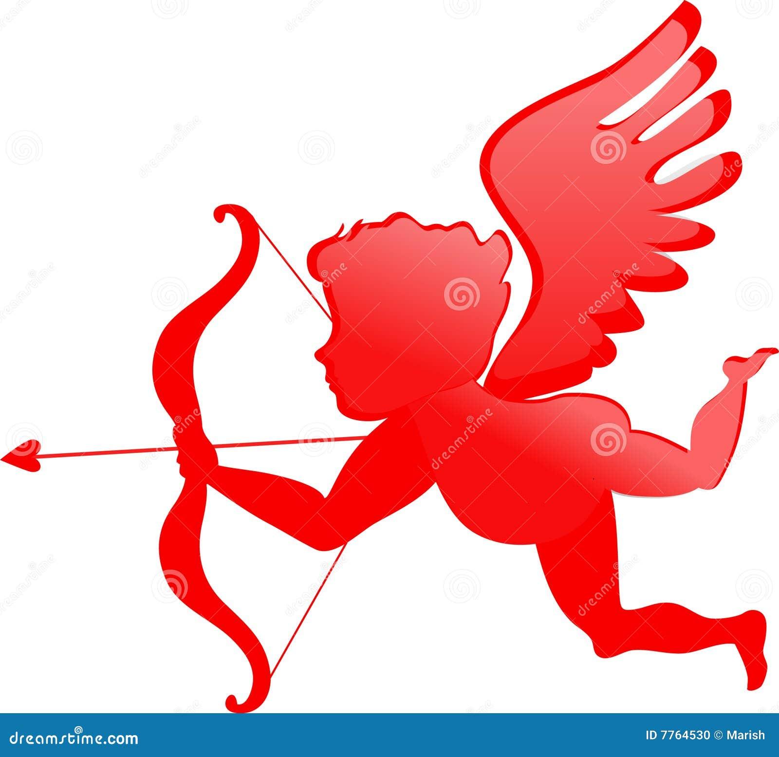 Cupidon rouge illustration de vecteur illustration du cadre 7764530 - Image de cupidon gratuite ...
