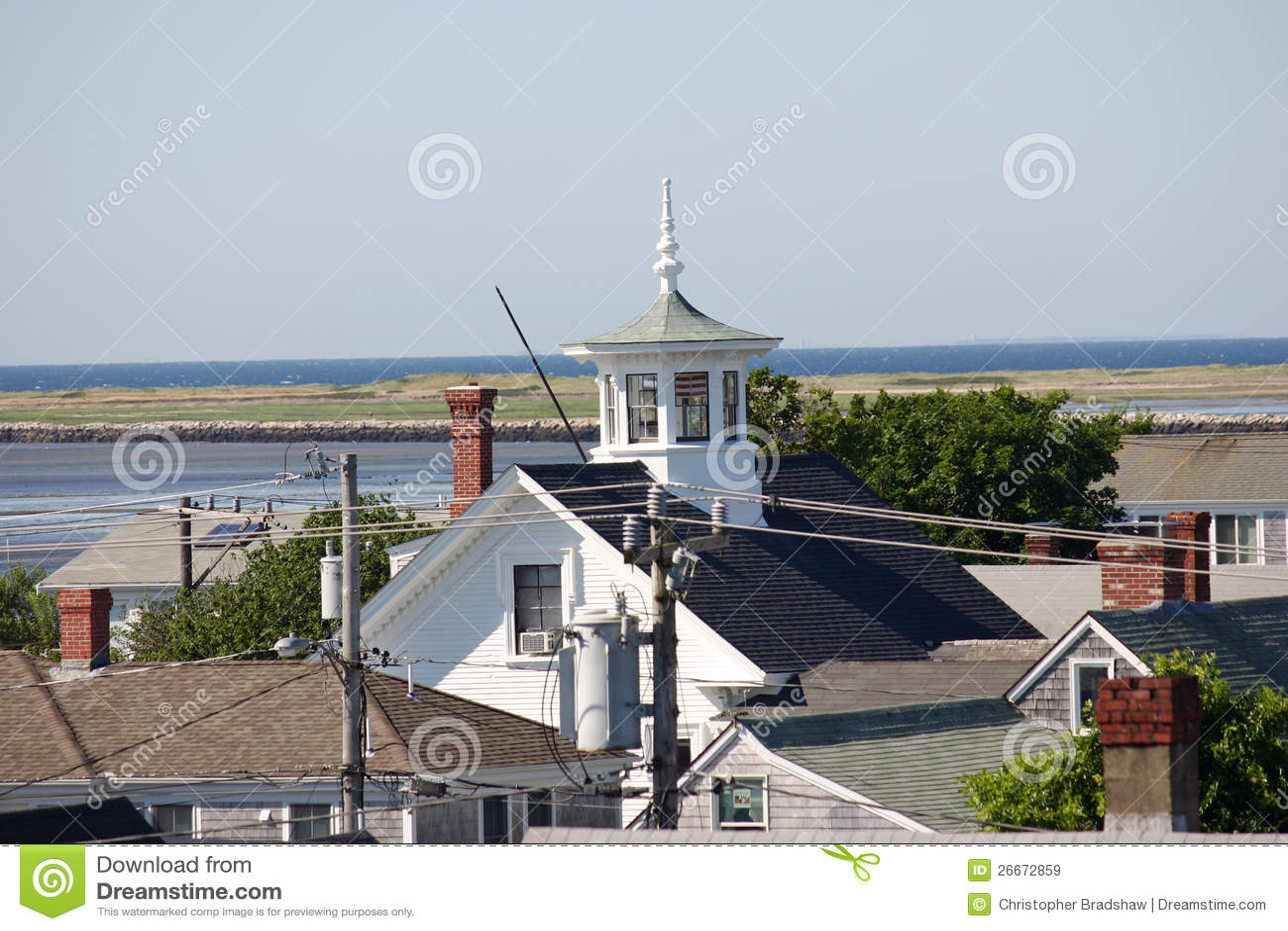 Cupola immagine stock immagine di camino casa for Disegni per la casa del merluzzo cape