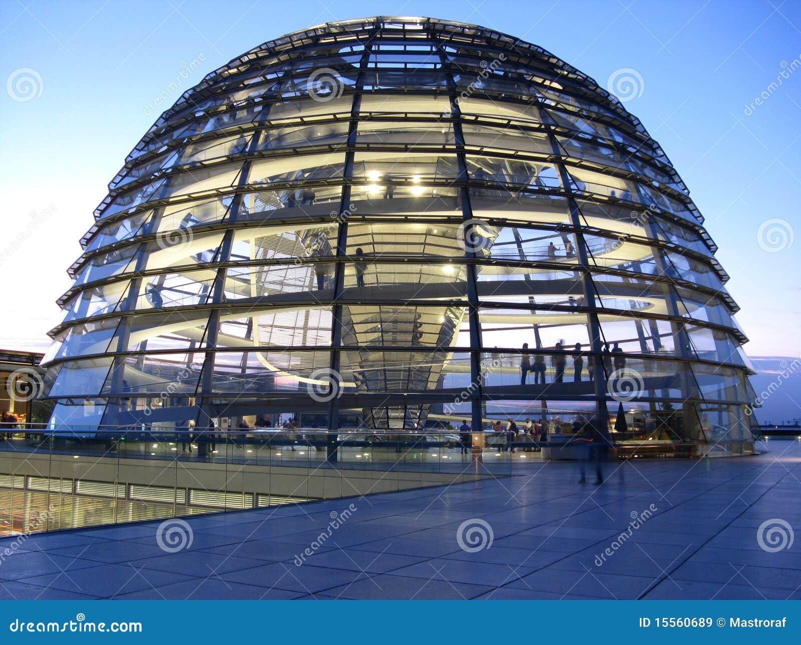 Cupola Di Berlino Reichstag Immagini Stock Libere da ...