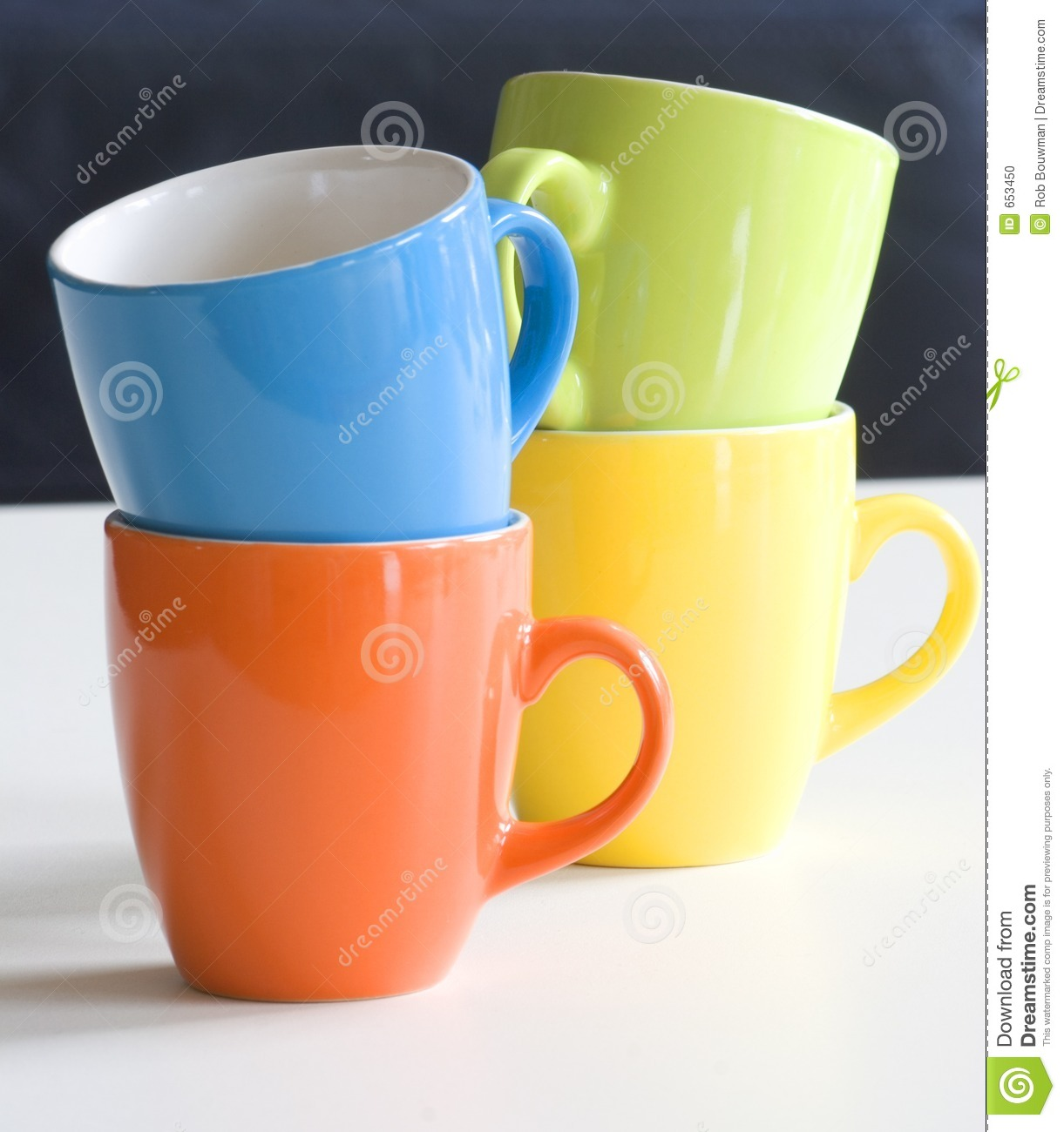 Pics Of Cupping: Cups Stock Photo