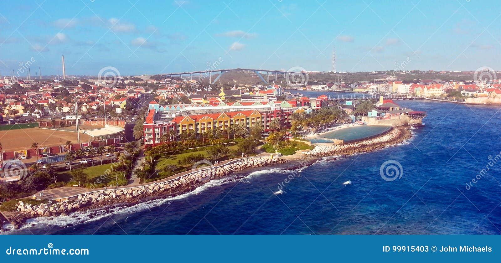 Curacao - Mega rejsu port