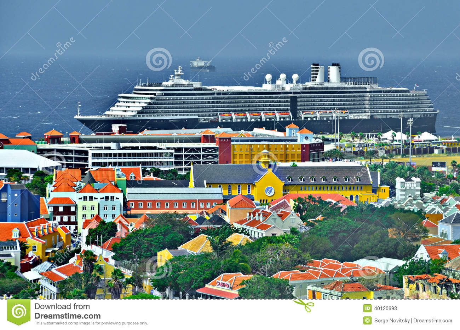 Curacao Port Editorial Stock Photo Image Of Leeward