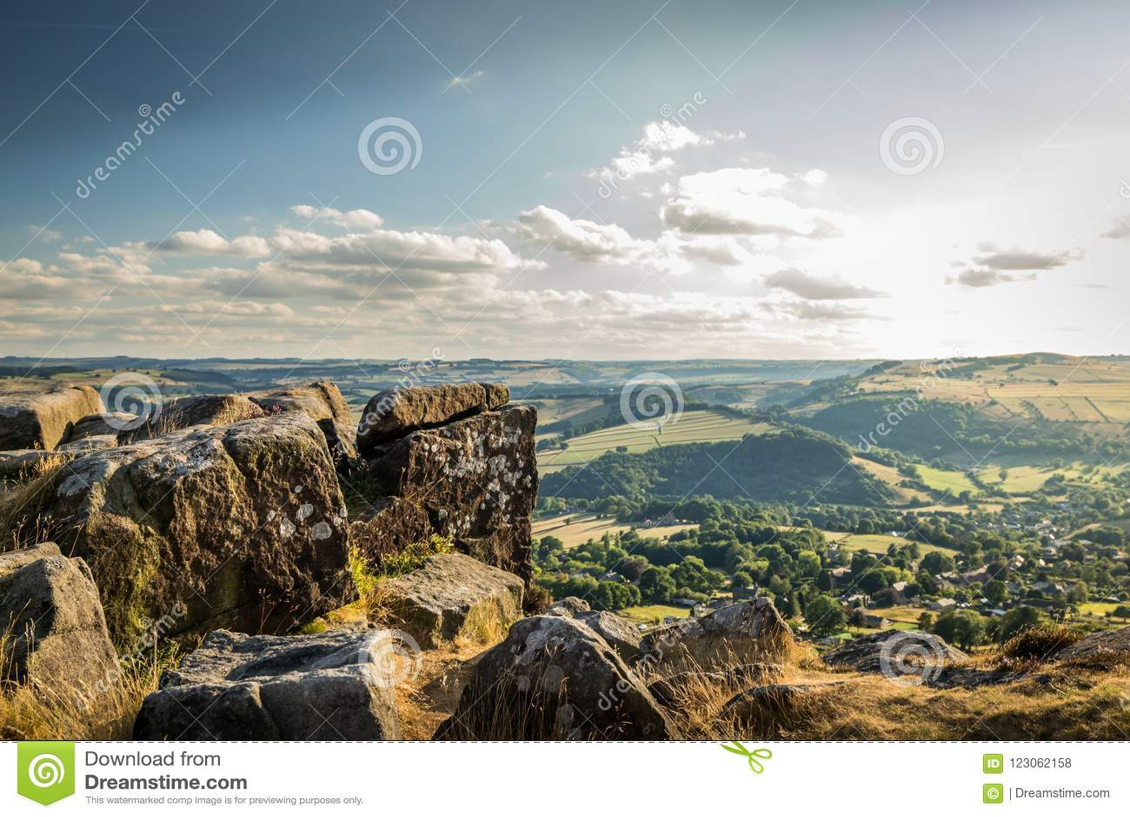 Curbar Edge Peak District