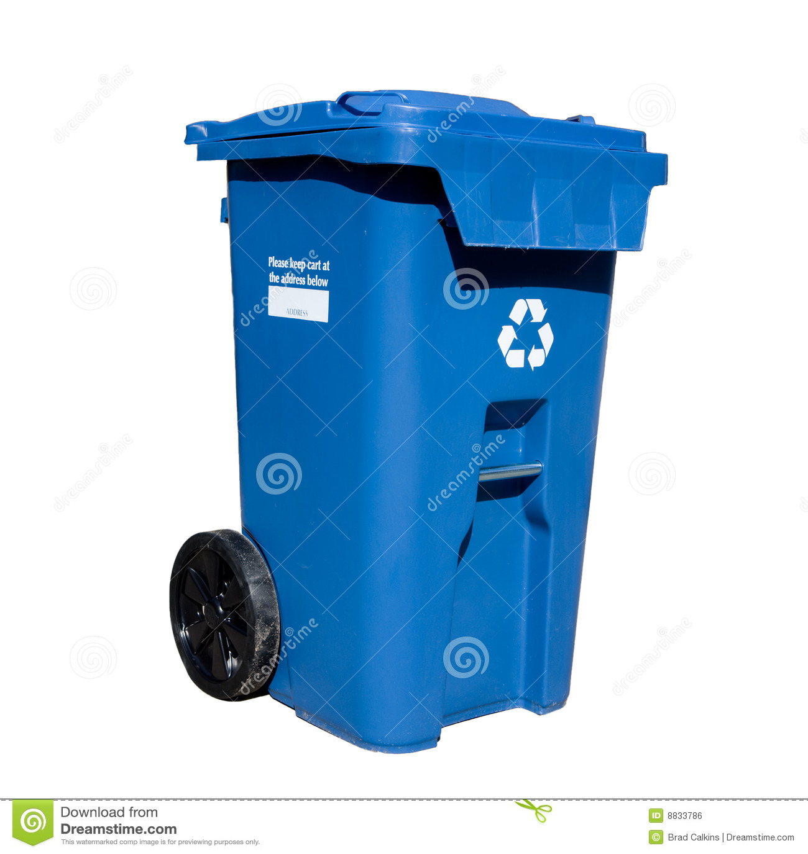 Curbside Recycle bin