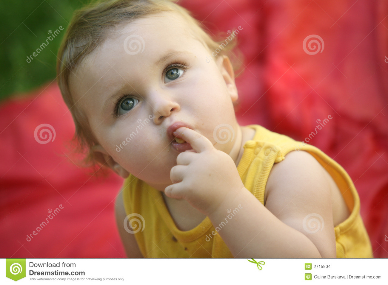 Curious Baby Stock Images - Image: 2715904