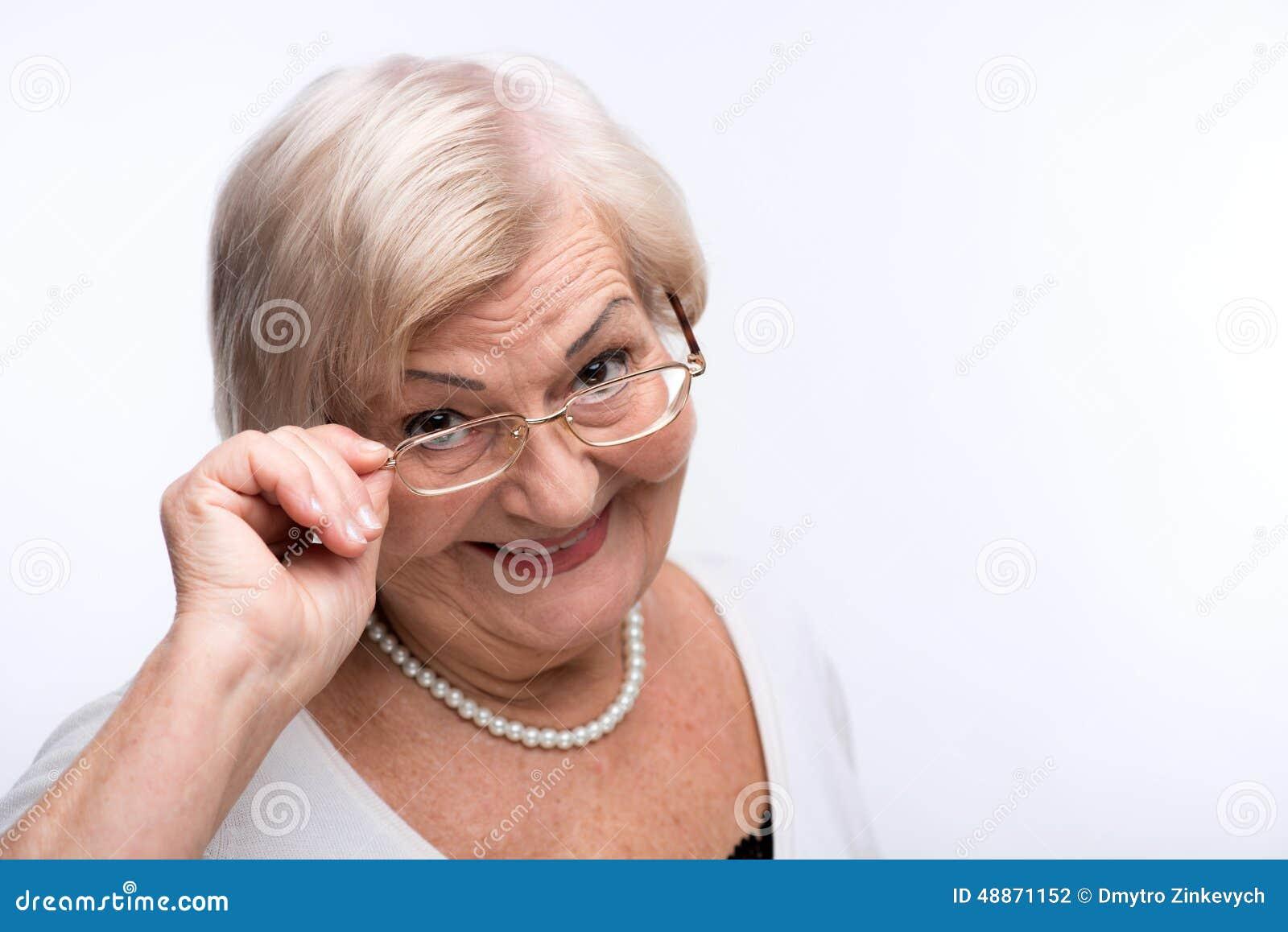 Video! nice looking granny