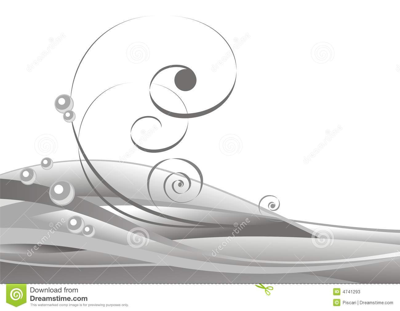 Download Curls stock vector. Illustration of curl, nature, background - 4741293