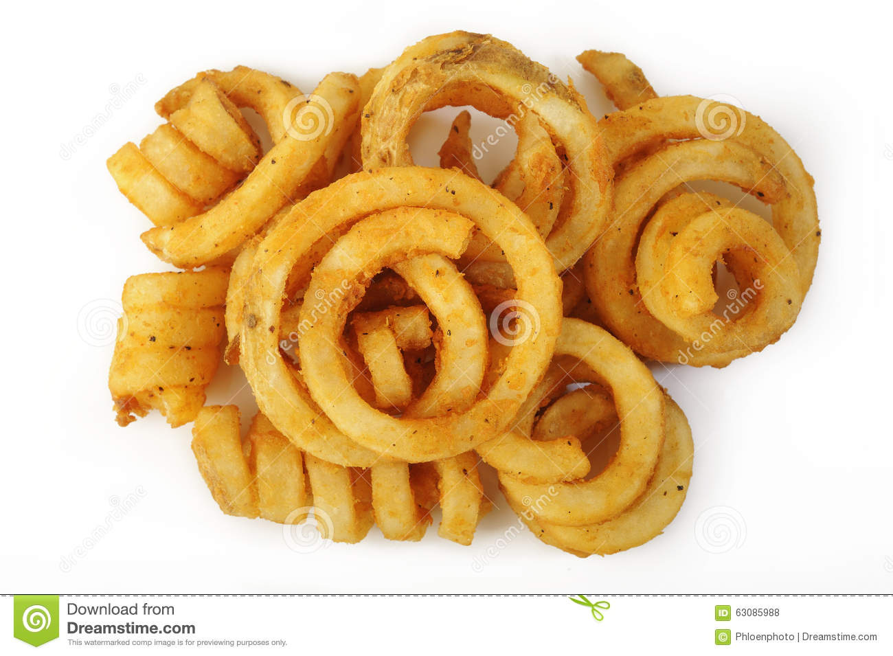 how to cook curly fries