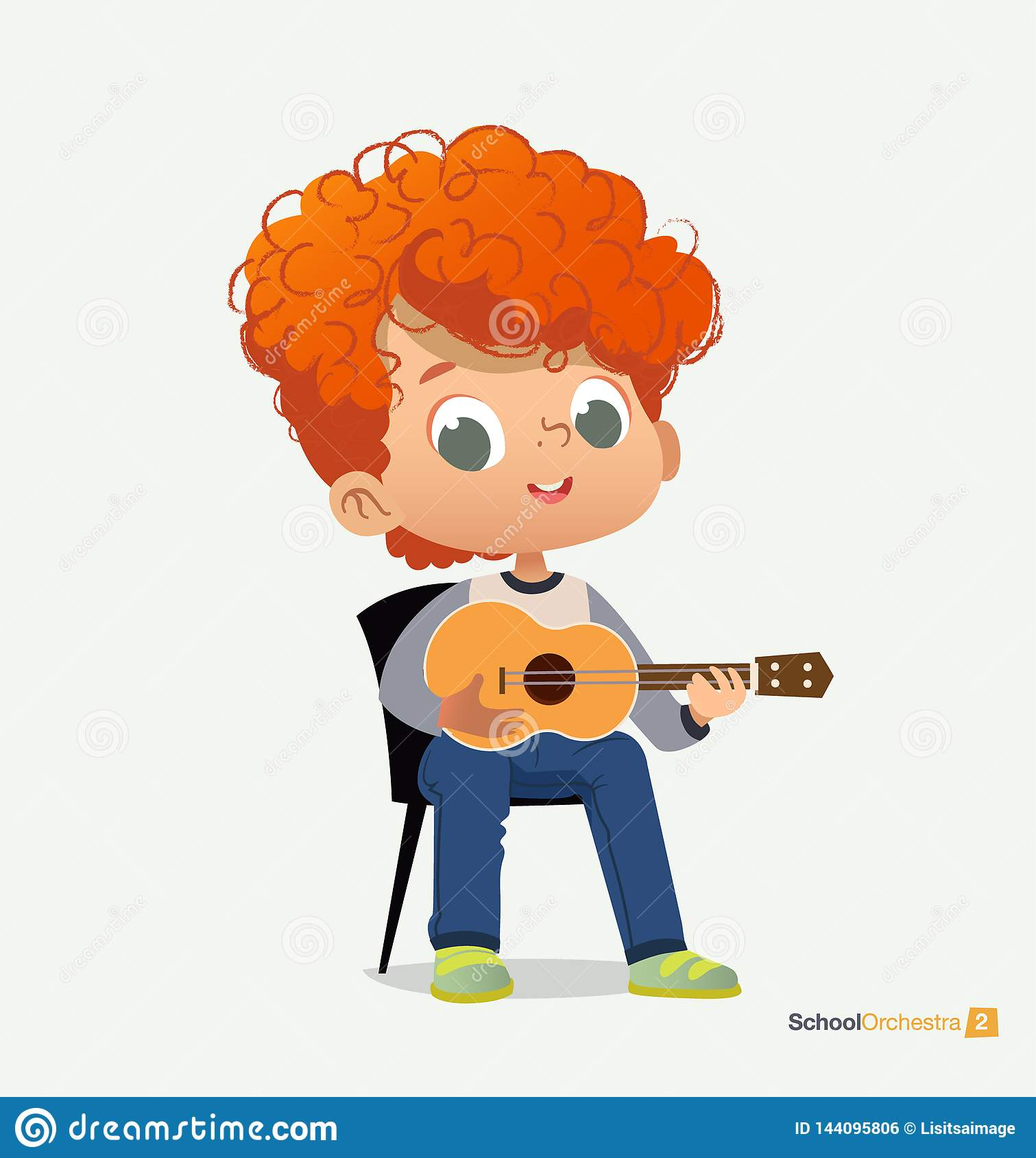 Curly Boy Stock Illustrations 3 138 Curly Boy Stock Illustrations Vectors Clipart Dreamstime
