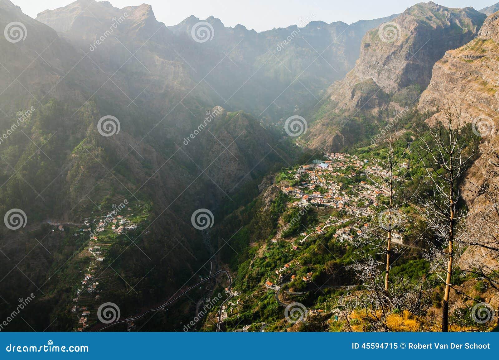 Curral DAS Freiras_Valley des nuns_Madeira