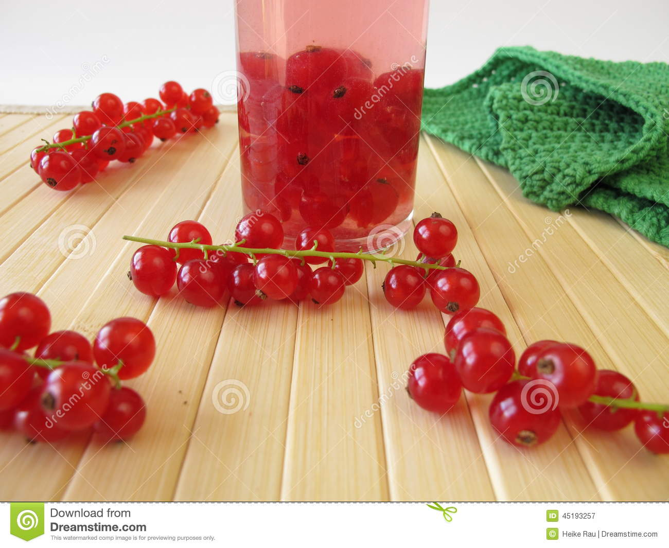 Currant Liqueur Stock Photo - Image: 45193257