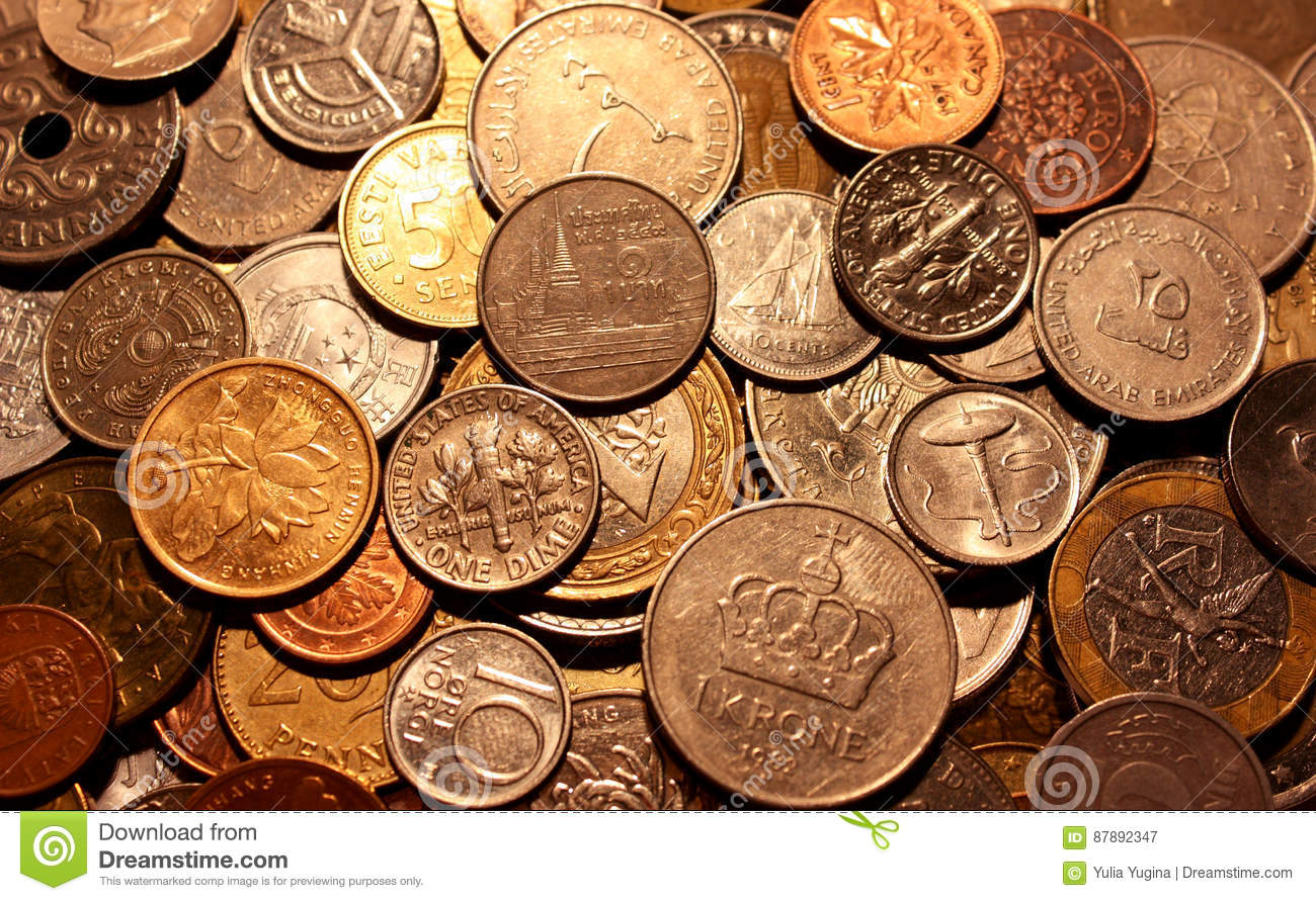 The Currencies Of Different Countries As A Symbol Of Abundance Of