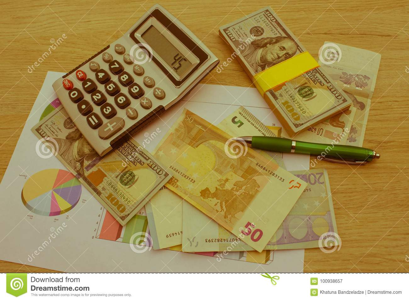 Currency exchange concept. finances, currency, exchange rate and business concept
