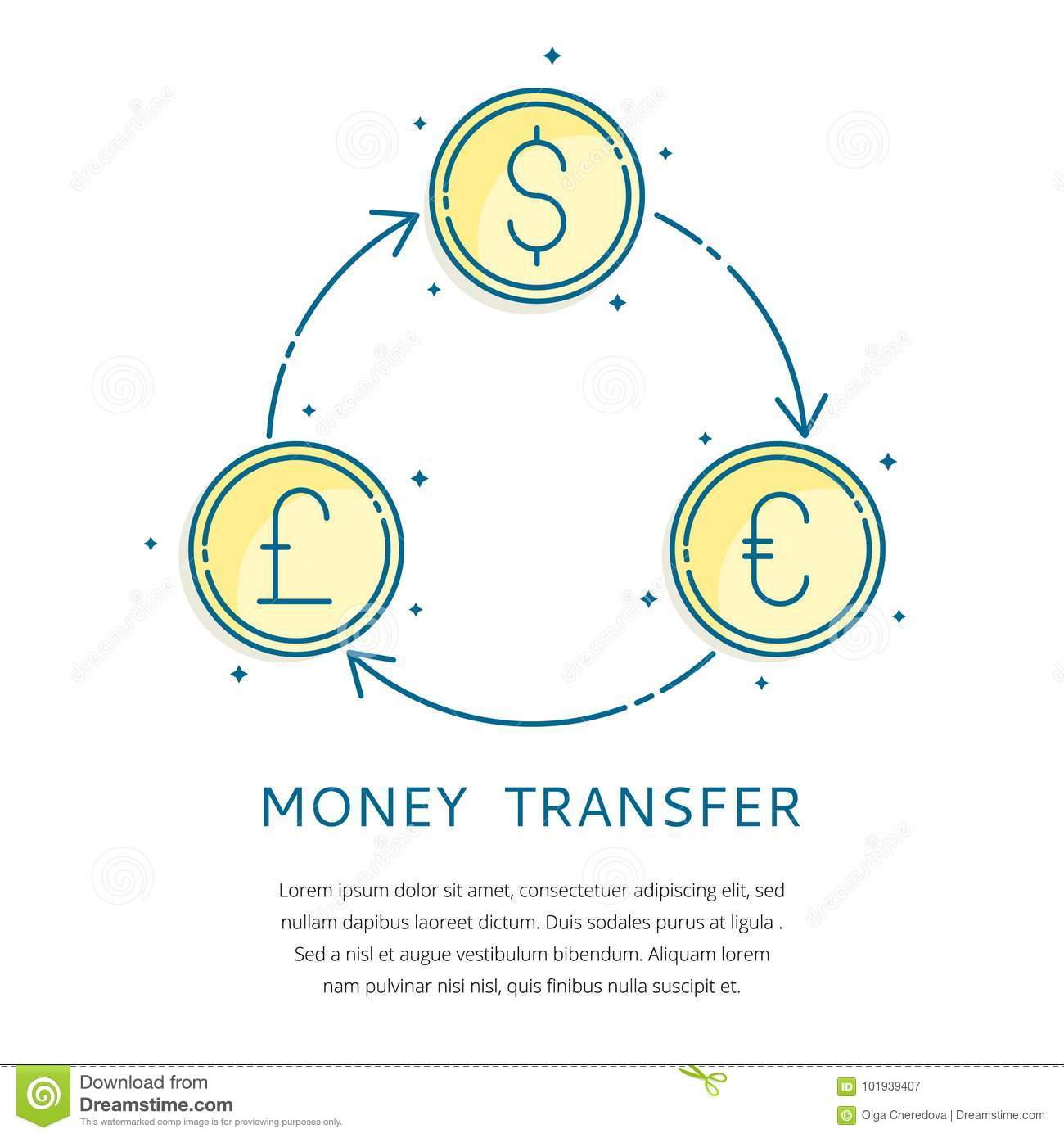 Currency Exchange Logo Stock Vector Illustration Of Forex 101939407