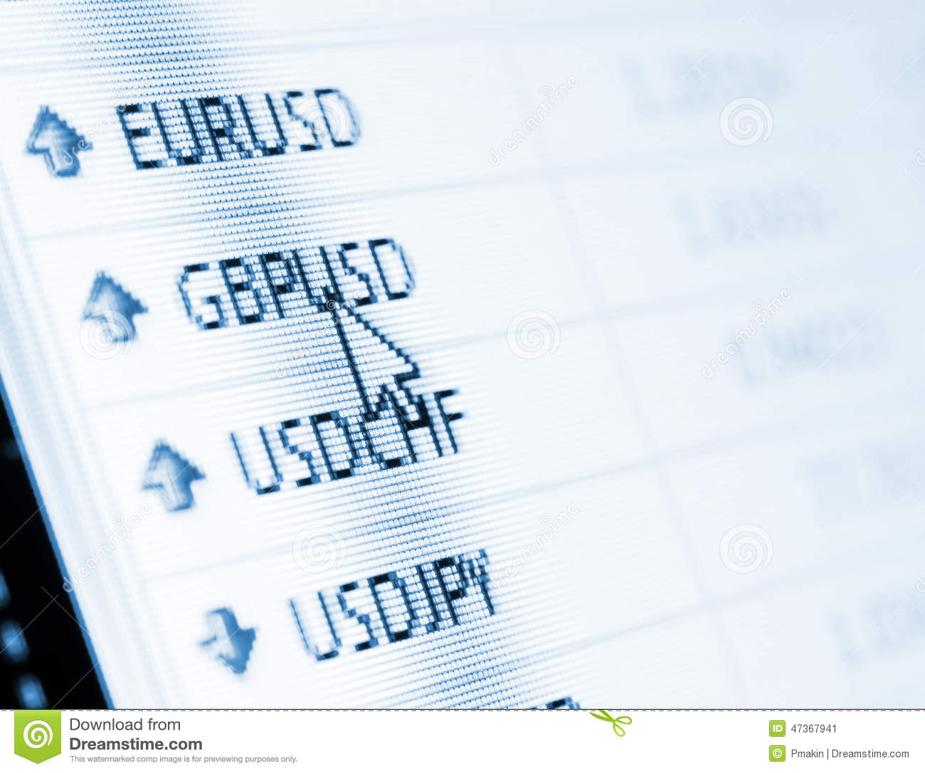 Forex exchange rate open market