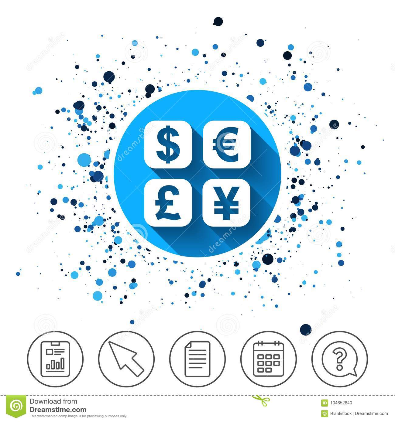Currency Exchange Sign Icon  Currency Converter  Stock