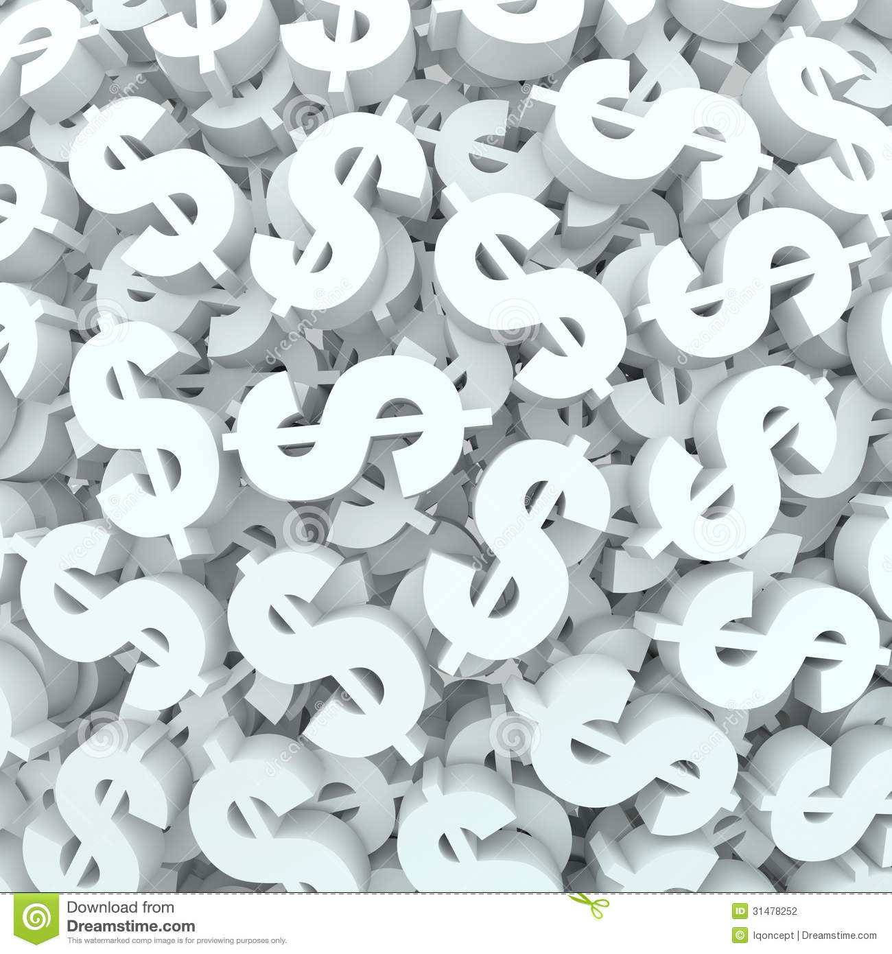 Finance Background: Currency Money Background Dollar Signs Finance Stock