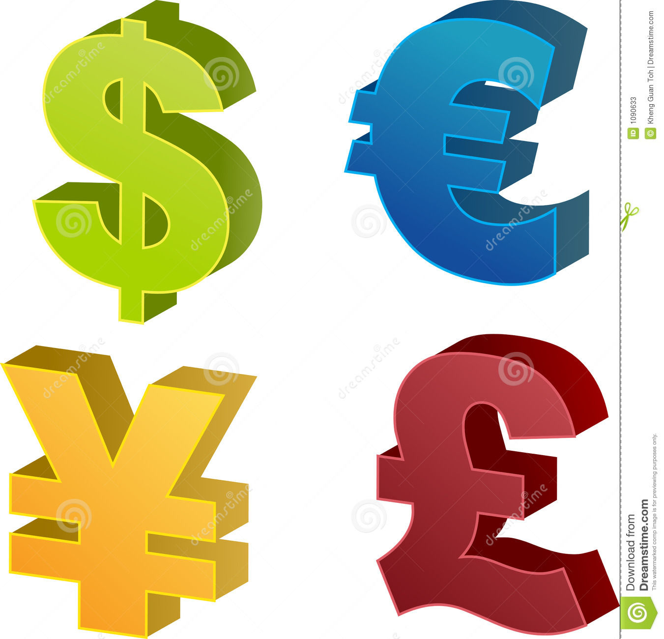 Currency Symbol Stock Illustration Illustration Of Investment
